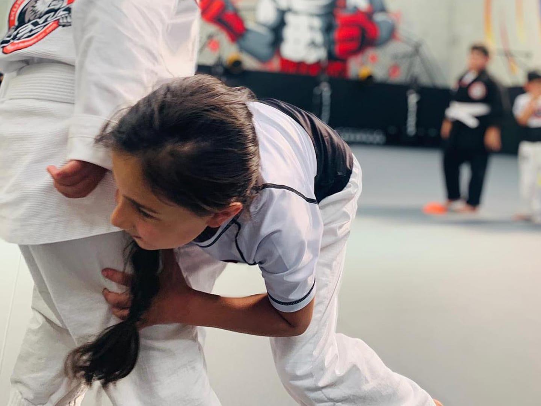 Children training martial arts in Coburg